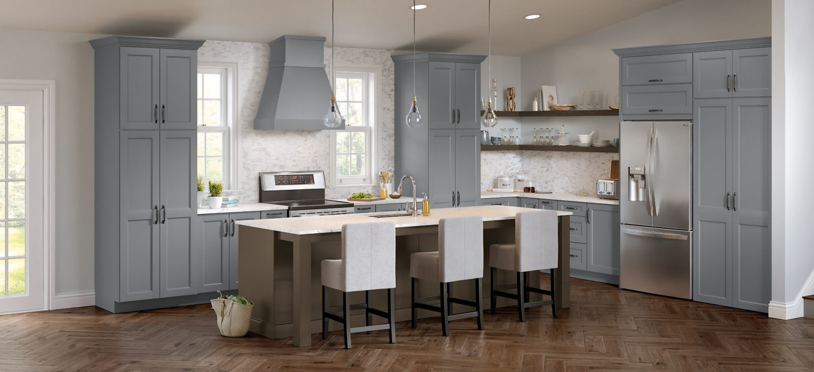 Blue Kitchen Cabinets: A trend that's Here to Stay
